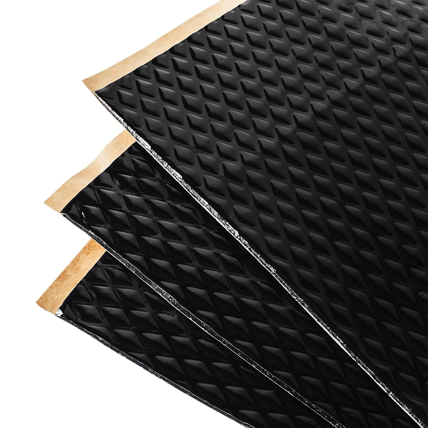 Noico Black 80 Mil 36 Sq Ft Car Sound Deadening, Butyl Automotive Deadener Restoration mat and Noise dampening Insulation Noico Solutions DMM1
