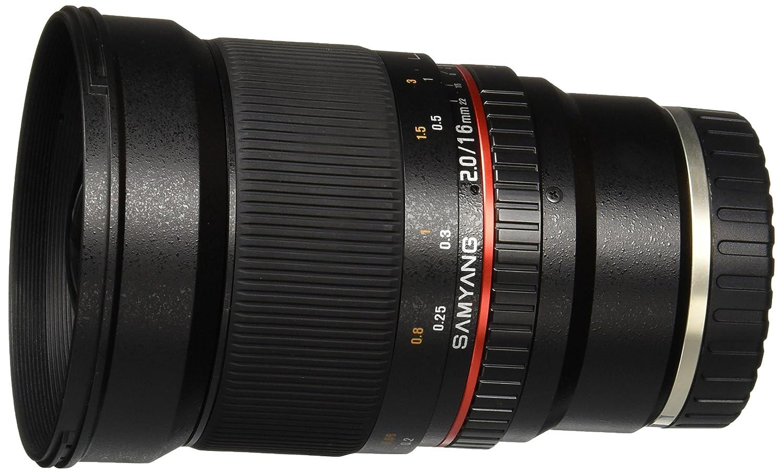 Samyang SY16M-E 16mm f/2.0 Aspherical Wide Angle Lens for Sony E-Mount
