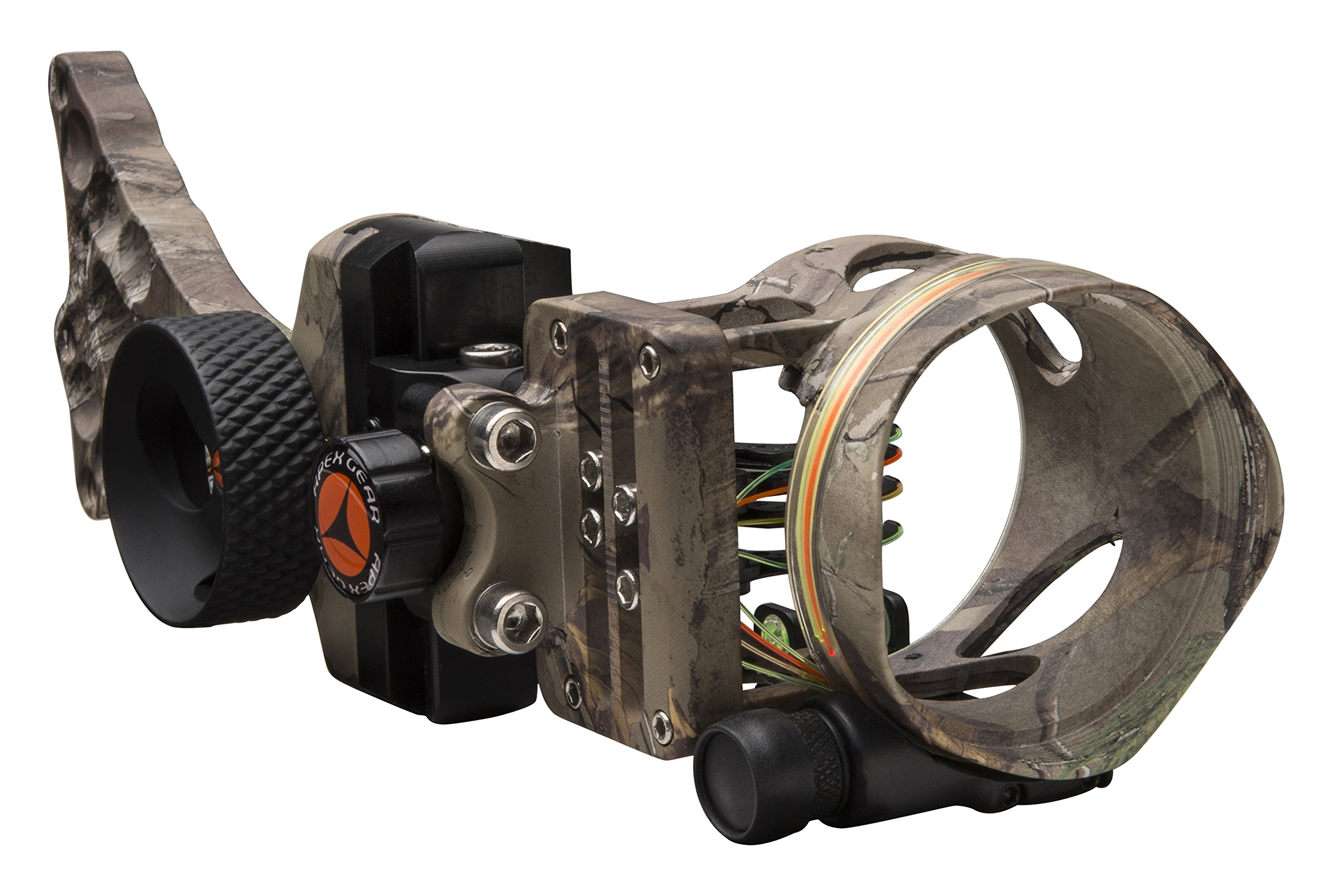 APEX GEAR Covert 4 Pin .019 Right/Left Hand Sight, Realtree Xtra