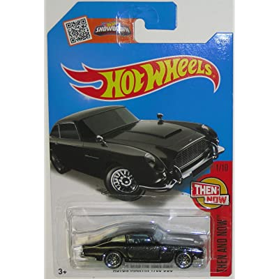 Hot Wheels 2016 Then and Now Aston Martin 1963 DB5 101/250, Black: Toys & Games