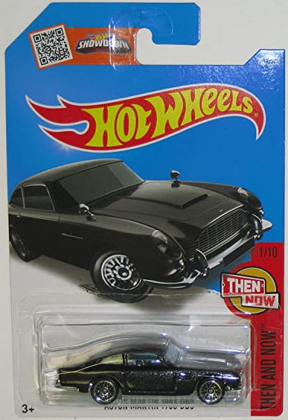 Amazon Com Hot Wheels 2016 Then And Now Aston Martin 1963 Db5 101 250 Black Toys Games