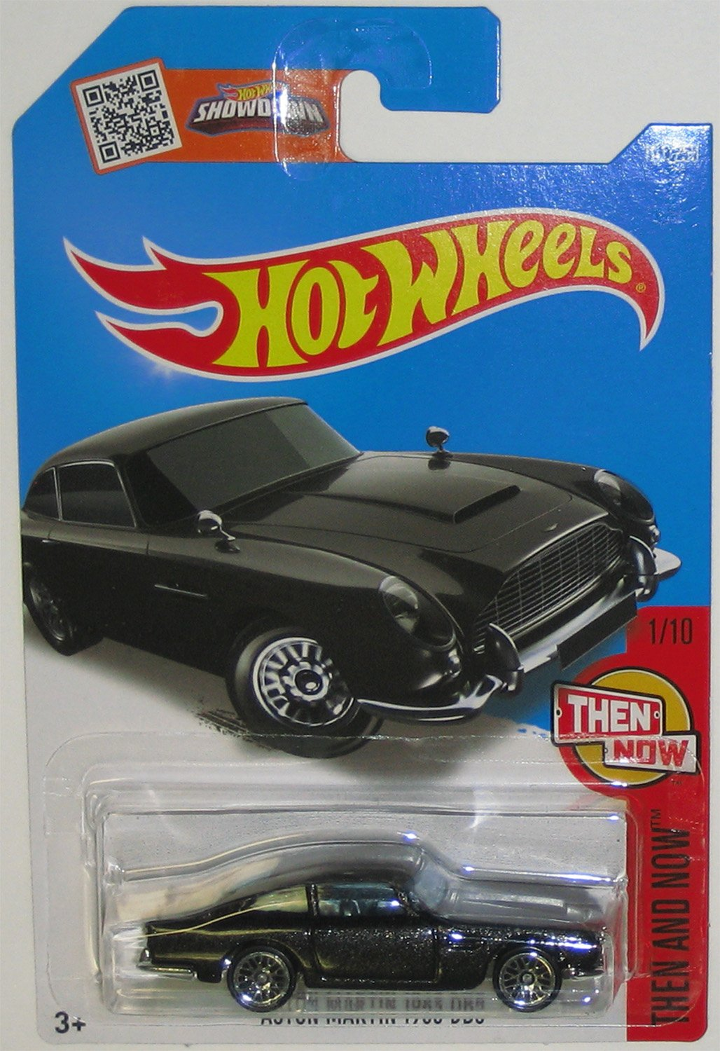 Hot Wheels 2016 Then and Now Aston Martin 1963 DB5 101/250, Black