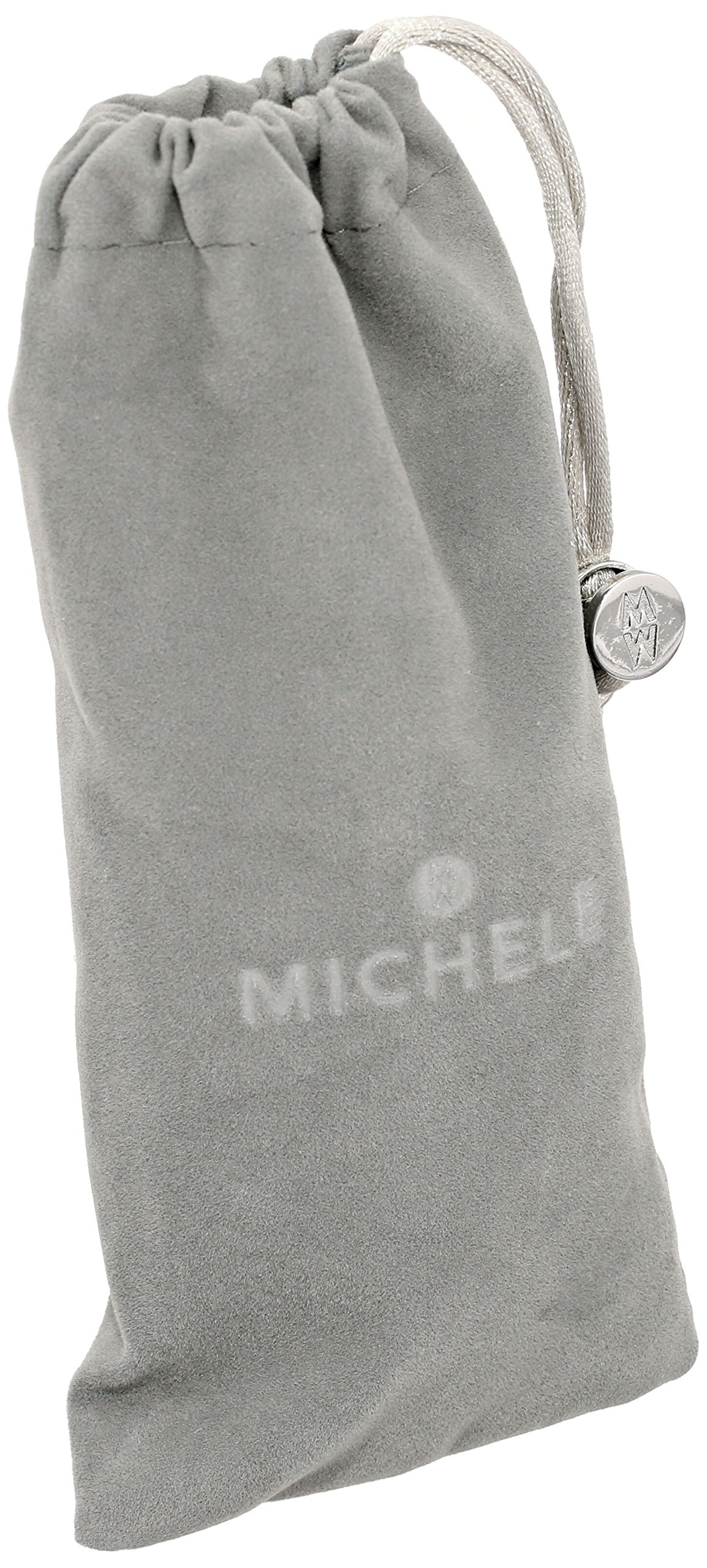 MICHELE MS16DM285048 Deco 16 16mm Stainless Steel Two Tone Watch Bracelet by MICHELE (Image #4)
