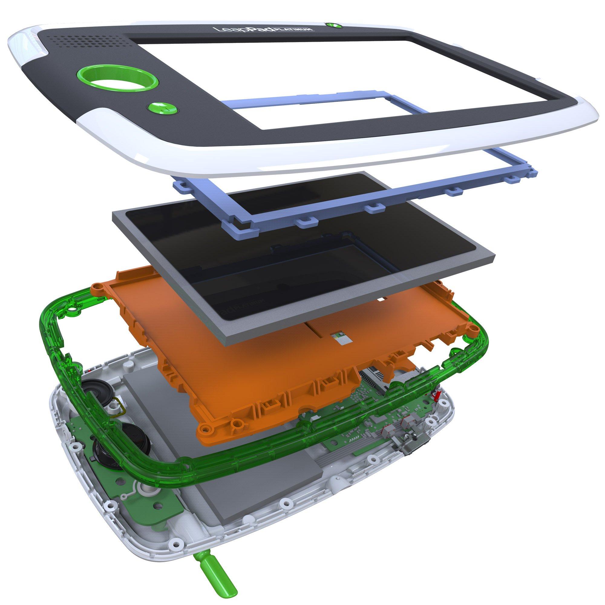 LeapFrog LeapPad Platinum Kids Learning Tablet, Green by LeapFrog. (Image #12)