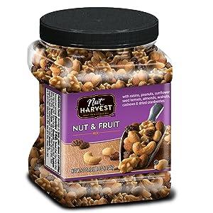 Nut Harvest Nut& Fruit Mix, 37 Ounce Jar