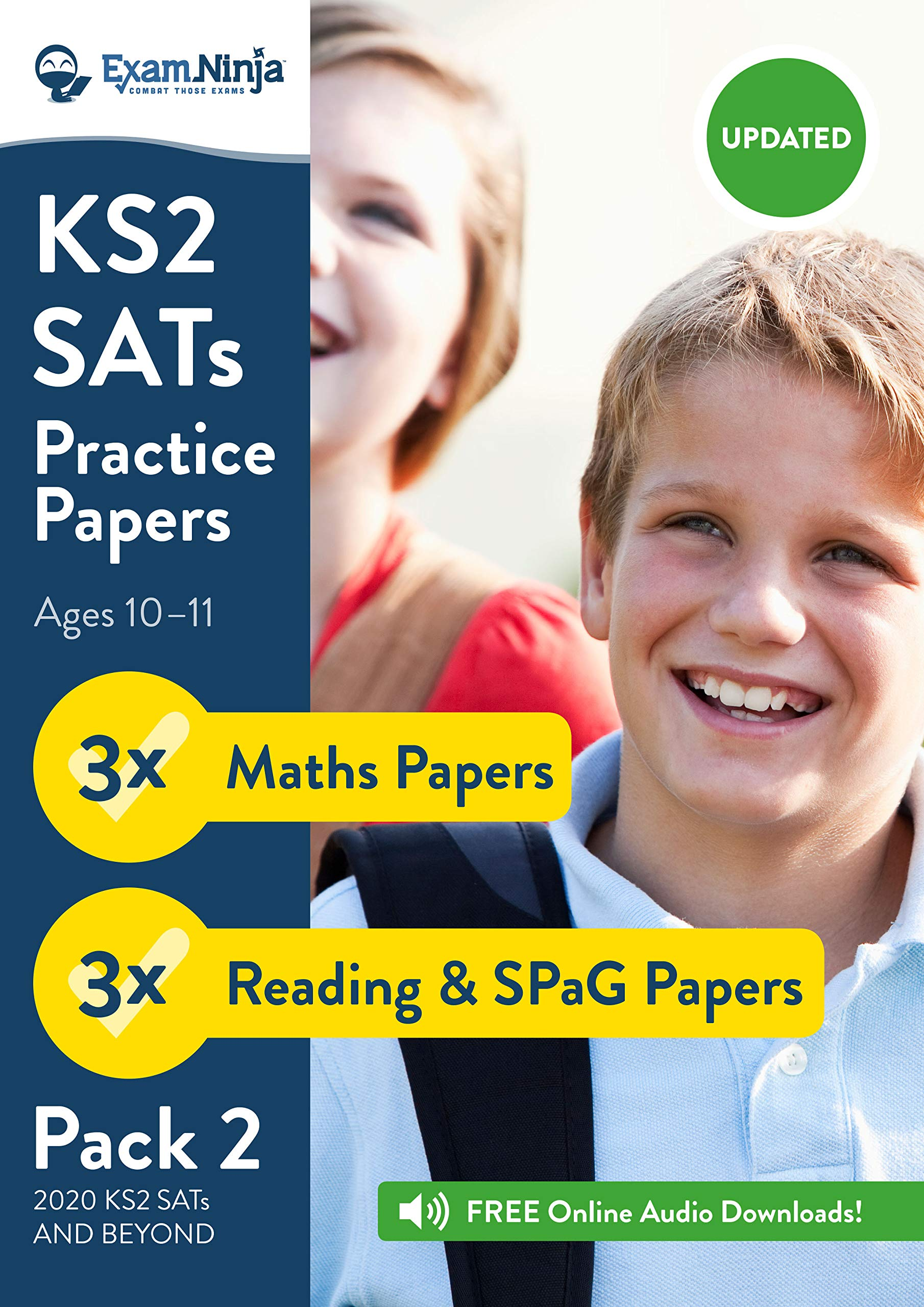 KS2 SATs Practice Papers - Pack 2 (English Reading, SPaG ...
