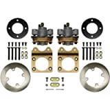 SuperATV Front Disc Brake Conversion Kit for Honda Rancher 350 4x4 (All Years) - DBK-H-001