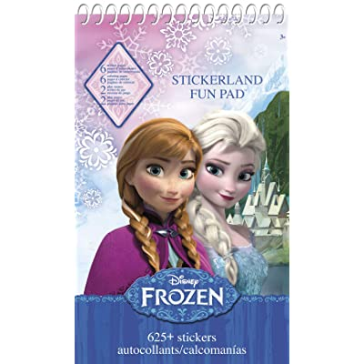 Trends International Frozen STICKERLAND Activity Pad 16 Pages: Toys & Games