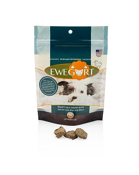 Amazon.com: Ovejas Leche Yogur Base Treats con la UEM: Mascotas