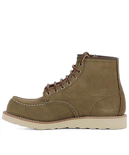 Red Wing Shoes - Botas para Hombre Marrón marrón IT - Marke Größe, Color Marrón, Talla 41 IT - Marke Größe 8: Amazon.es: Zapatos y complementos