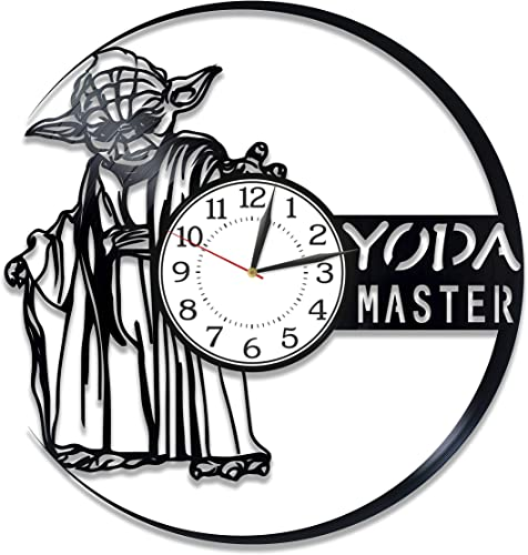 Kovides Yoda Master Handmade Clock Star Wars Birthday Gift Idea