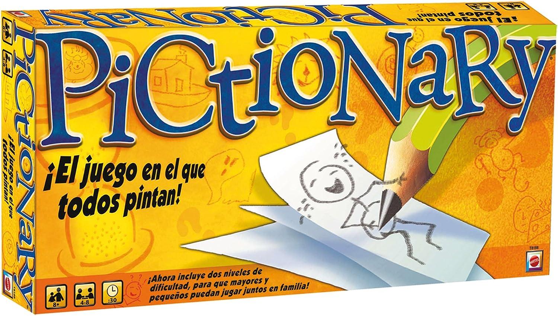 Pictionary Juegos Mattel T8188: Amazon.es: Juguetes y juegos