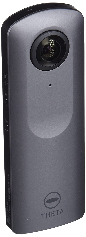 Ricoh Theta V - Cámara esférica 360° de 14 MP (Bluetooth, Android, 4K) + carcasa acuática, color gris metalizado: Amazon.es: Electrónica