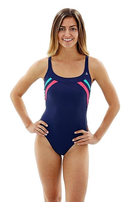 20333ba9ad Amazon.com   Aqua Sphere Women s Siena Swimsuit   Athletic One Piece ...