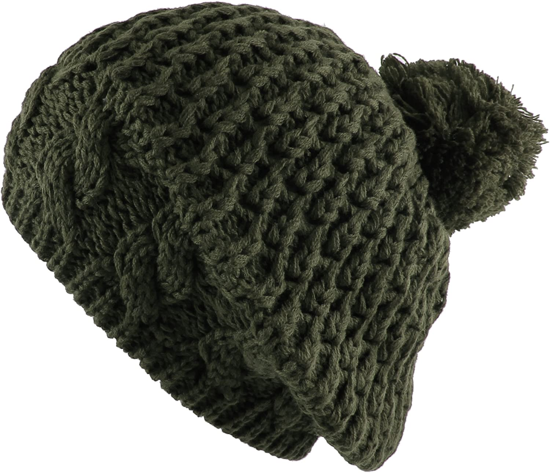 Morehats Thick Crochet Knit...