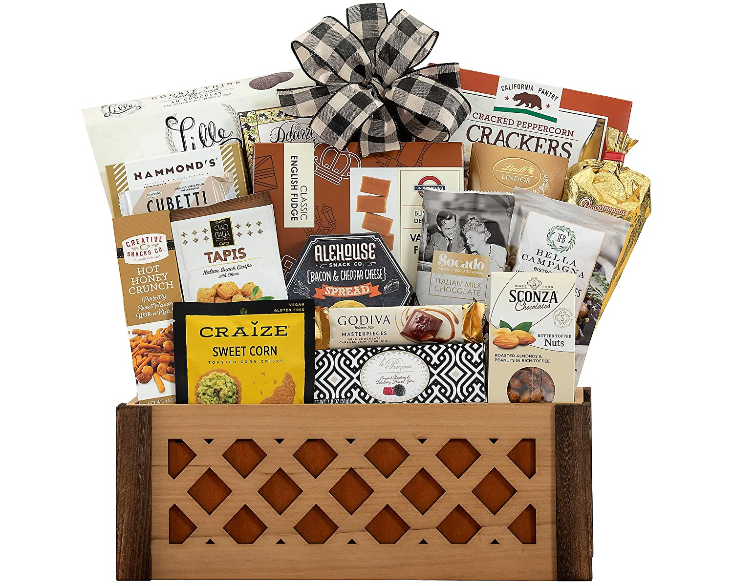 Sweet & Savory Gift Crate By Wine Country Gift Baskets