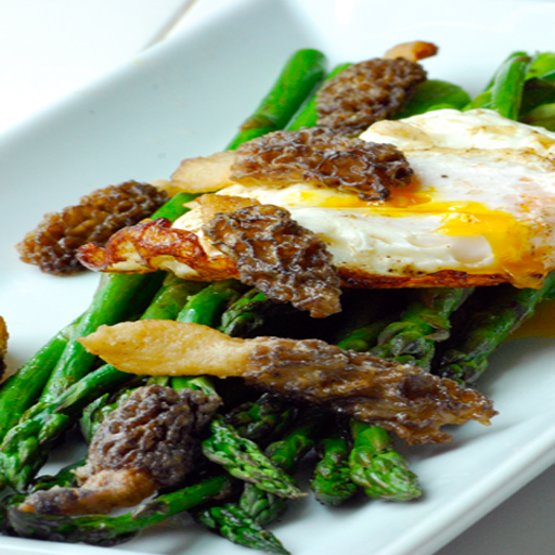 Asparagus Recipes - Chilli & (Sauteed Chicken)