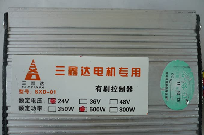 HMParts E - Scooter Steuergerät / Controller 24 V 500 W: Amazon.de: Auto