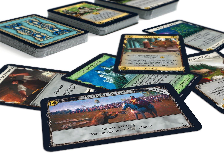 Rio Grande Games 22501410 Dominion Empires - Ampliación de Juego de Mesa (Idioma español no garantizado): Amazon.es: Juguetes y juegos