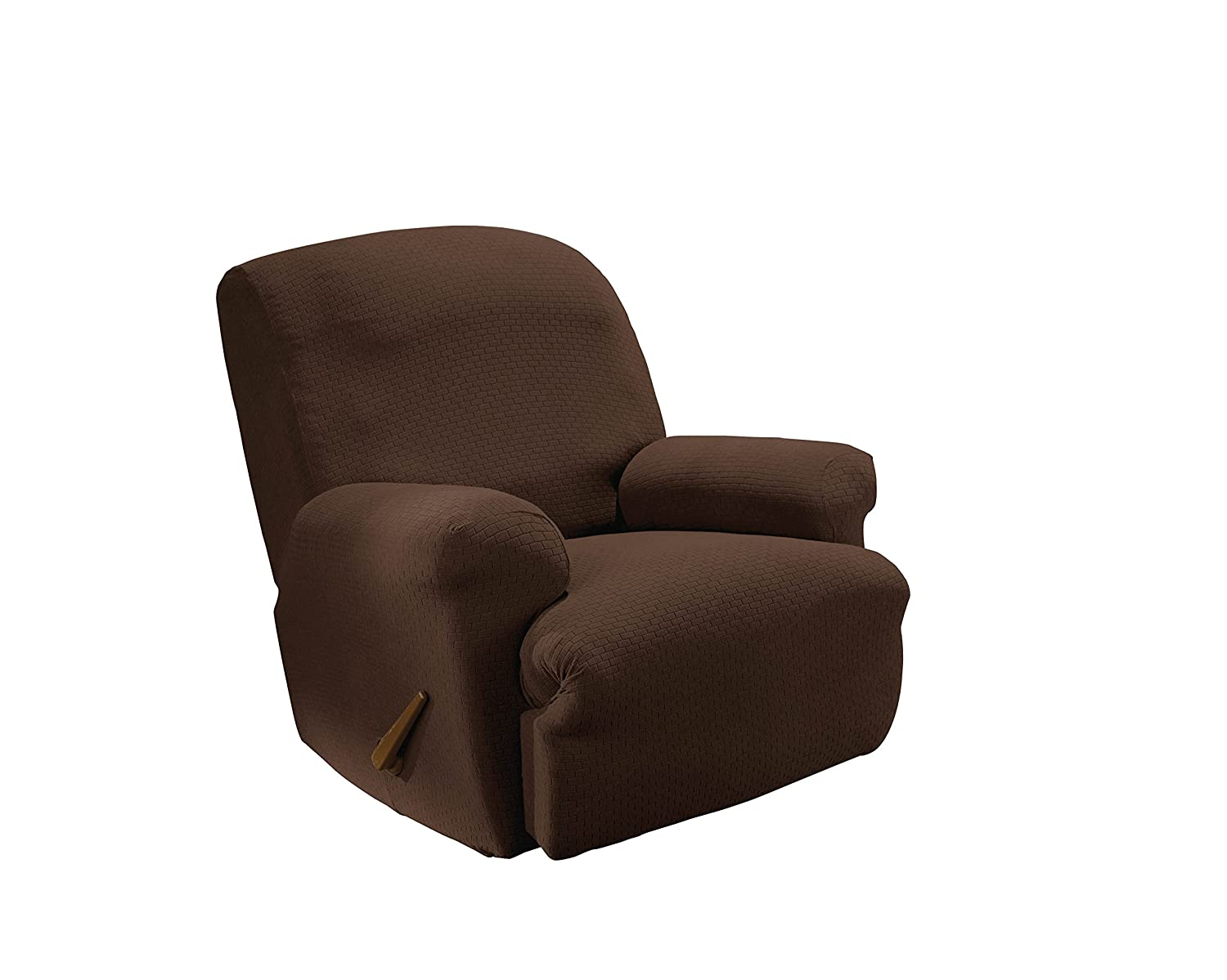 Sure Fit Simple Stretch Subway - Recliner Slipcover - Chocolate (SF45445)