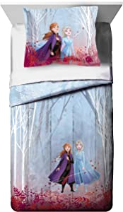 Jay Franco Disney Frozen 2 Forest Spirit Twin/Full Comforter, Mutli