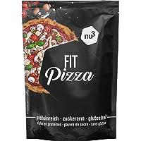 nu3 Mix Farine per Pizza a Basso Contenuto di Carboidrati | Impasto per Pizza Senza Glutine e Lievito ad Alto Contenuto Proteico con Semi di Lino e Farina di Mandorle | Preparato per Pizza Vegana 270g