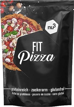 nu3 Fit Pizza baja en carbohidratos   270g de harina para pizza proteica sin levadura  