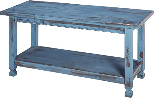 Rustic Cottage Bench