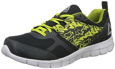 7ca9c069e0a Reebok Men s Speed Xt 2.0 Gravel Semi Solar Yellow Running Shoes - 10 UK