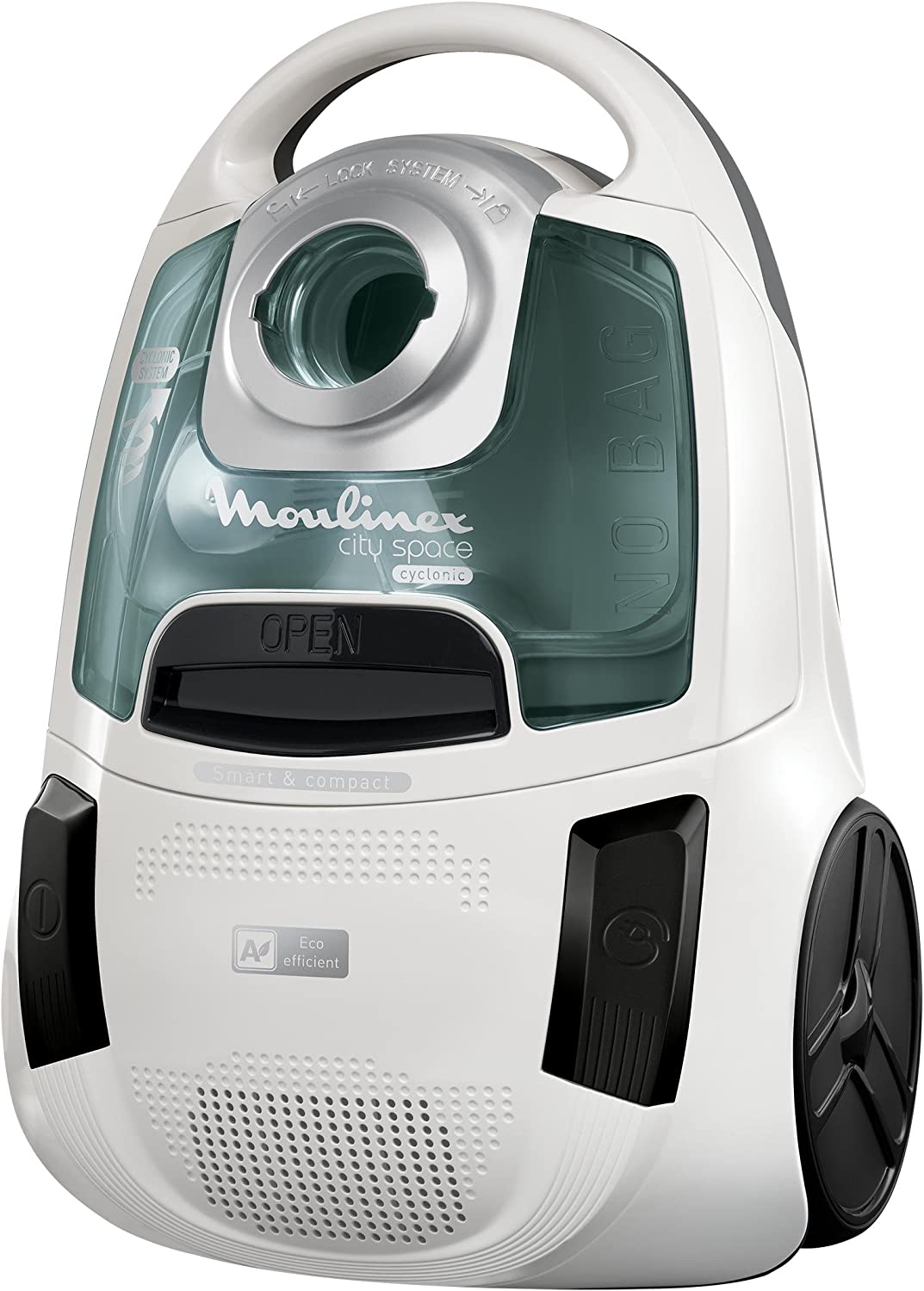 Moulinex City Space Cyclonic Aspirador sin bolsa: Amazon.es: Hogar