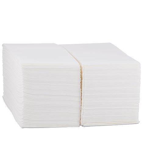 eDayDeal Desechables papel de tela mano toallas de invitados de – suave, absorbente, Air