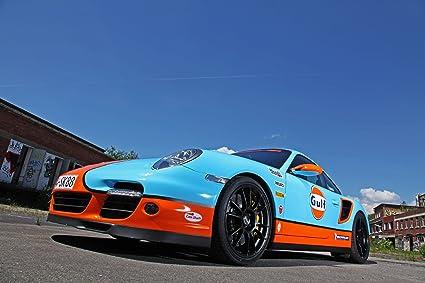 Clásico y músculo anuncios de coche y COCHE arte Porsche 991 Turbo por Cam Shaft (
