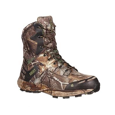 bc085175c57 Rocky Men's 8 Inch Broadhead 800G Hunting Boot