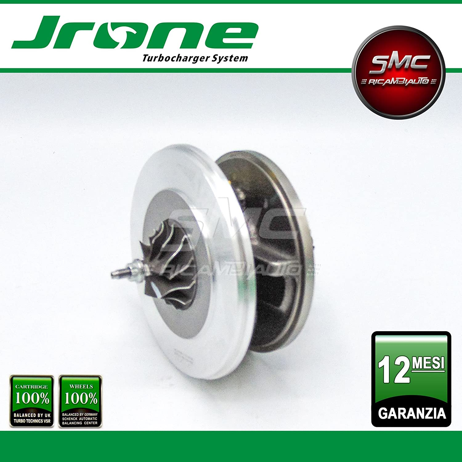1000 - 010 - 108 coreassy turbina Garret turbocompressore Original JRONE: Amazon.es: Coche y moto