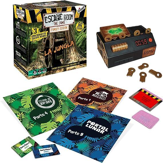Diset Escape Room The Jungle (versión Familiar) (62331): Amazon.es: Juguetes y juegos
