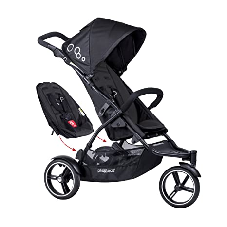 Amazon.com: Phil & Teds Dot Silla de paseo con segundo ...