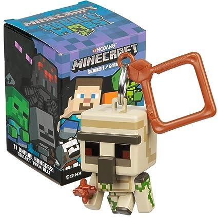 Amazon.com: JINX Minecraft Bobble Mobs Key Chain Blind Box ...