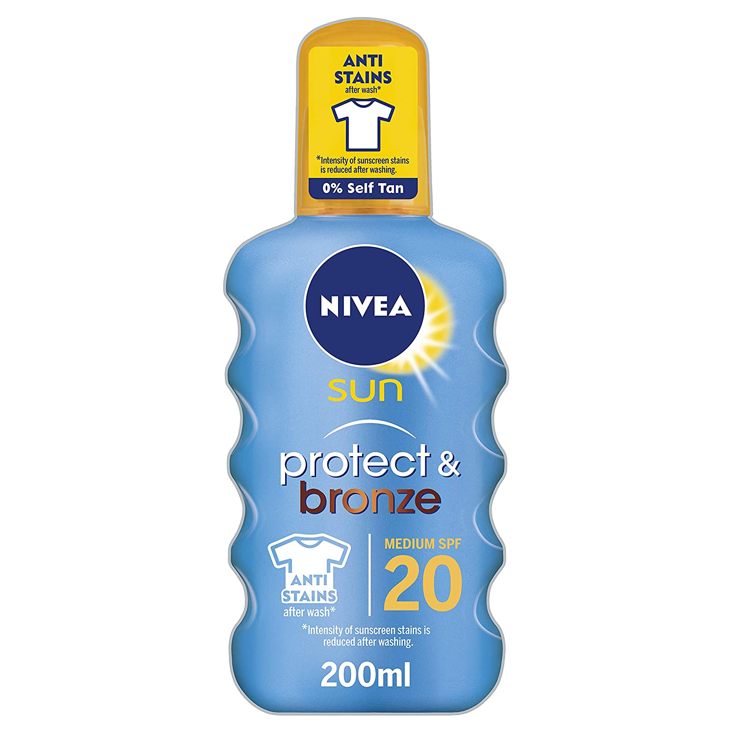 NIVEA SUN Tan Activating Suncream Spray SPF 30, Protect & Bronze, 200 ml BEIERSDORF UK 85445