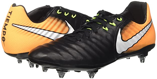 Nike Tiempo LIGERA IV (SG) Botas de fútbol Negro LASER