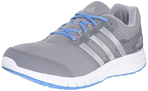 low priced de23c 88213 Adidas Galaxy Elite 2m Uomo US 9 Grigio Scarpa da Corsa Amazon.it Scarpe  e borse