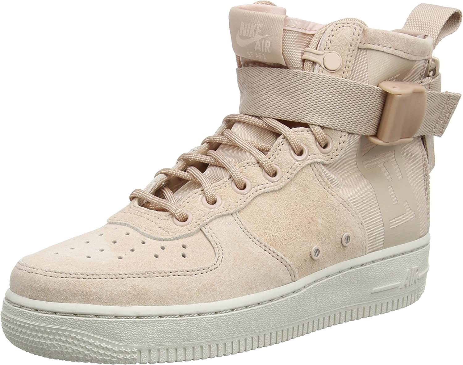 Nike SF Air Force 1 Mid Fossil (W) AA3966 202 Damen | real
