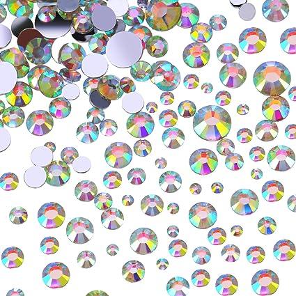 6291a0244aa3 Flatback Rhinestones Round Crystal Flat Back Gems
