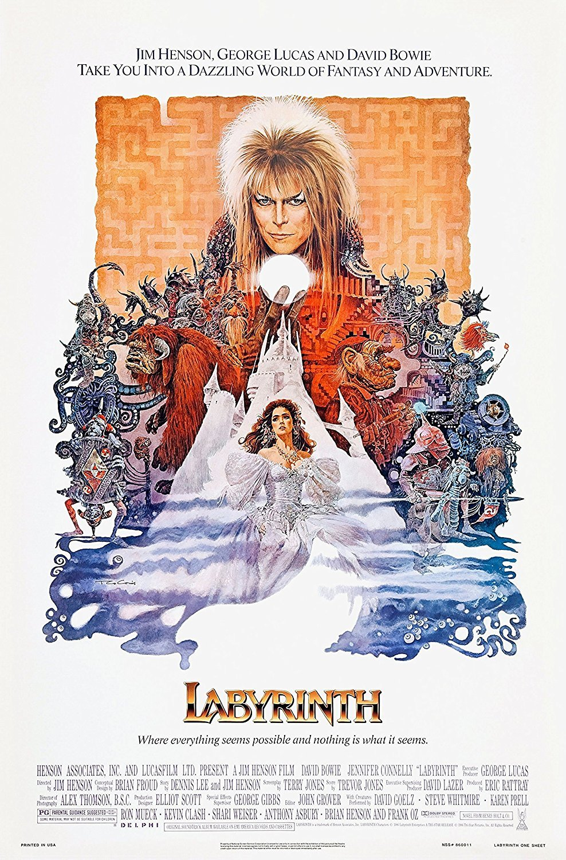 Labyrinth (1986) Movie Poster 24x36