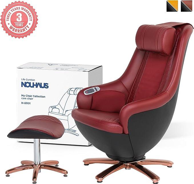 NOUHAUS Ottoman Massage Chair