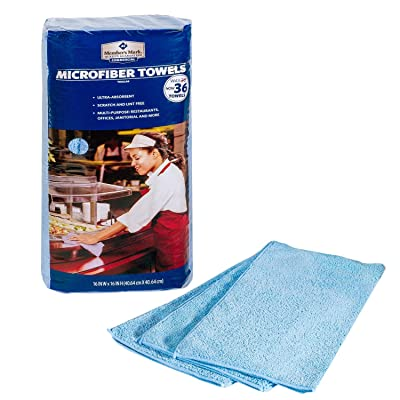 Member's Mark Microfiber Towels - Blue (36 COUNT): Health & Personal Care