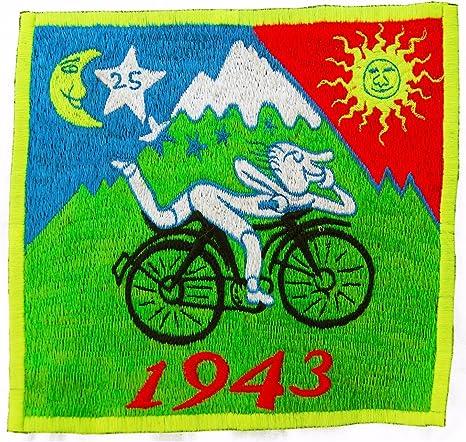 ImZauberwald Original Albert Hofmann LSD bicicleta día UV parche 7 ...