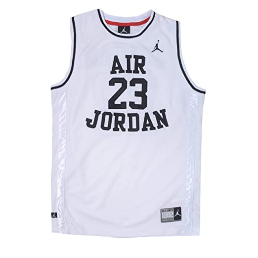 24a6a0fc25 Amazon.com  Nike Jordan Boy s Youth Classic Mesh Jersey Shirt ...