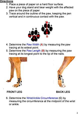 Thera-Paw Padded Supportive and protecitve boot for painful or injured paws Size TG