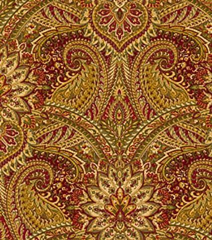 Amazon Com Waverly Home Decor Fabrics Toraja Crimson Fabric