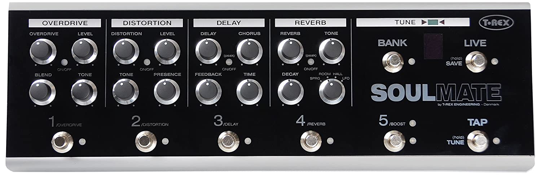 amazon t rex エフェクター ギター用 5 in 1エフェクトボード soul